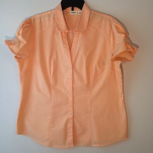 Cato woman's blouse size xl,short sleeve